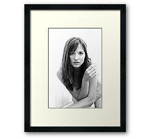 Neighbor Girl 4 Framed Print