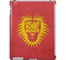 House Lannister, Hear Me Roar iPad Case/Skin