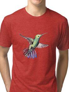 Bird hummingbird Tri-blend T-Shirt