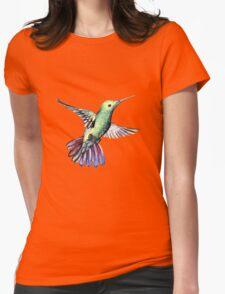 Bird hummingbird Womens Fitted T-Shirt