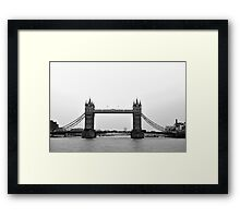 London Tower Bridge Framed Print