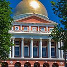 USA. Massachusetts. Boston. State House. by vadim19