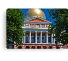 USA. Massachusetts. Boston. State House. Canvas Print