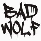 Bad Wolf #1 - Black by slitheenplanet
