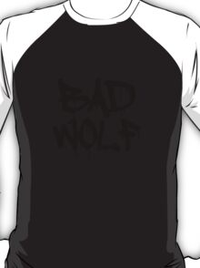 Bad Wolf #1 - Black T-Shirt