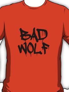 Bad Wolf #1 - Black T-Shirt