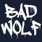 Bad Wolf #1 - White by slitheenplanet
