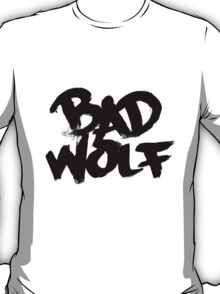 Bad Wolf #2 - Black T-Shirt