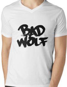 Bad Wolf #2 - Black Mens V-Neck T-Shirt