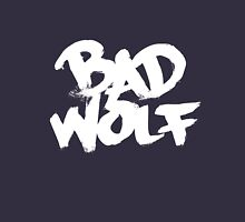 Bad Wolf #2 - White Unisex T-Shirt