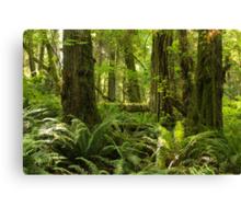 Green Abundance Canvas Print