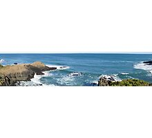 Flinders Blowhole Panorama Photographic Print