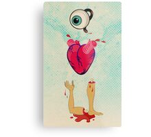Eye Heart U Metal Print