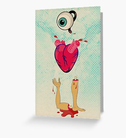Eye Heart U Greeting Card
