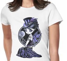Audrey Gothic Couture Fairy Womens Fitted T-Shirt