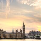Houses of Parliament, and Big Ben London by SteveHphotos