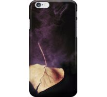 the world in a leaf iPhone Case/Skin