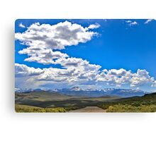Praerie road Canvas Print