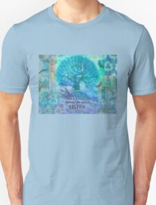 Inspirational Quote by Rumi  T-Shirt