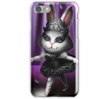 Black swan bunny iPhone Case/Skin