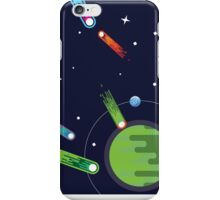 The end of a planet. iPhone Case/Skin
