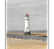 Perch Rock by DavidWHughes