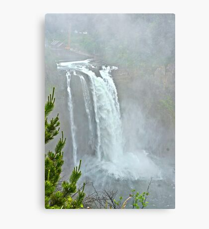 Snoqualmie Falls, Washington State Metal Print