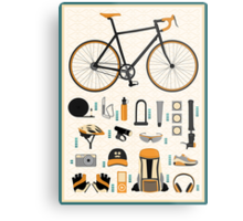 Bike gear Metal Print