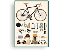 Bike gear Canvas Print