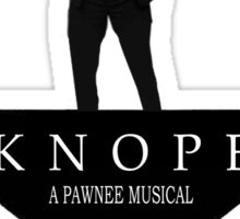 Parks and Ham - Knope the Musical Sticker