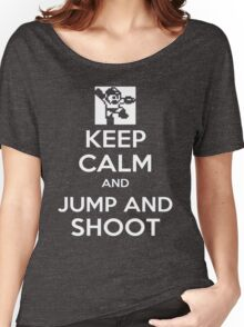 Keep Calm and Jump and Shoot Women's Relaxed Fit T-Shirt