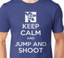 Keep Calm and Jump and Shoot Unisex T-Shirt