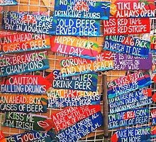 """""""Sign, Sign Everywhere A Sign..."""" by John  Kapusta"""