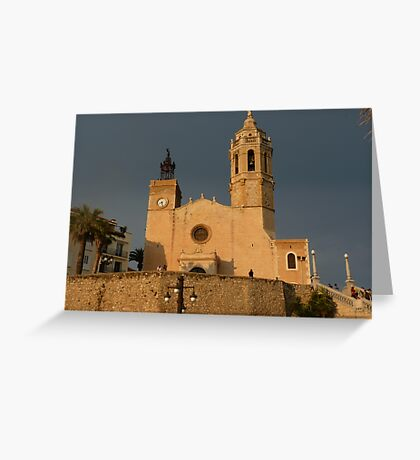 Sitges Greeting Card