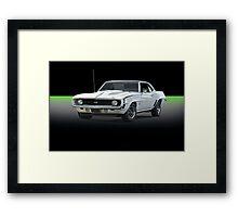 1969 Camaro SS350 Framed Print