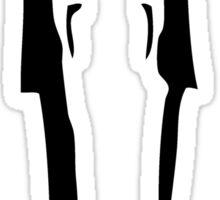 Toki Wartooth - black Sticker