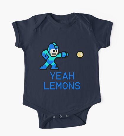 Yeah Lemons One Piece - Short Sleeve