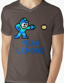 Yeah Lemons Mens V-Neck T-Shirt