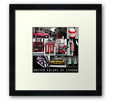London - iconic images Framed Print