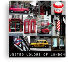 London - iconic images Canvas Print