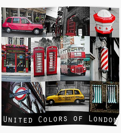 London - iconic images Poster