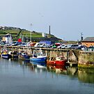Whitehaven harbour. by Lilian Marshall