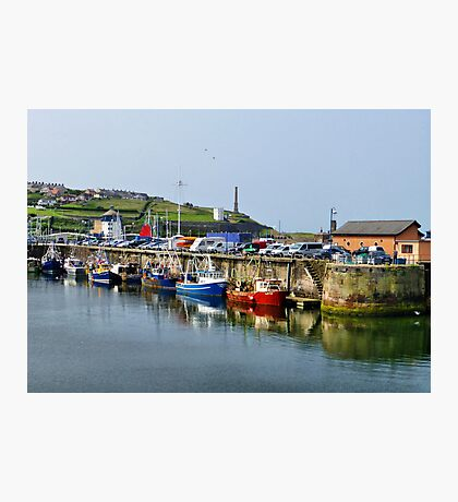 Whitehaven harbour. Photographic Print