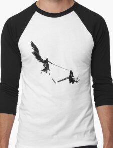 Sephiroth vs Cloud GS Men's Baseball ¾ T-Shirt