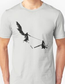 Sephiroth vs Cloud GS T-Shirt