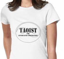 Taoist for Interfaith Cooperation Womens Fitted T-Shirt