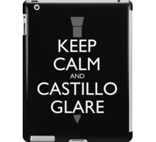 Keep Calm and Castillo Stare (B/W) iPad Case/Skin