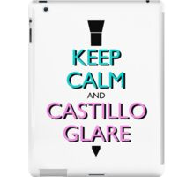 Keep Calm and Castillo Stare (Miami Vice) iPad Case/Skin