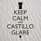 Keep Calm and Castillo Stare (Sand) by olmosperfect