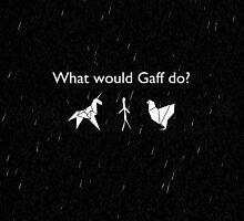 What Would Gaff Do? (Rain) by olmosperfect